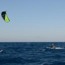 getting kite wind power