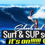 paddle surfing corralejo