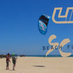 Kite flying beach session