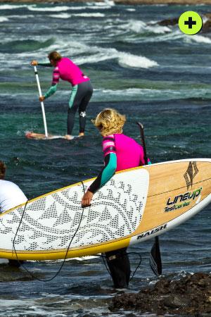 surfers sup fuerteventura