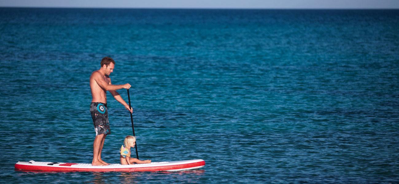 sup-surfing corralejo