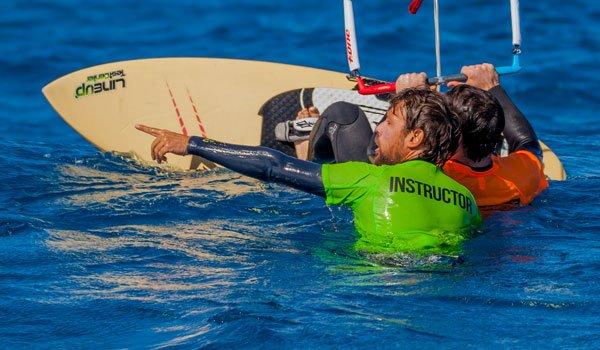 water start kite