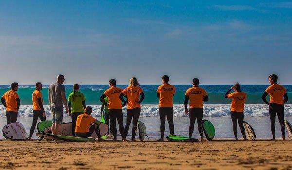 Surf Camp Fuerteventura & school