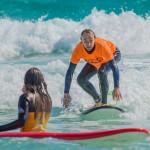 Surfing en costa este Fuerteventrura