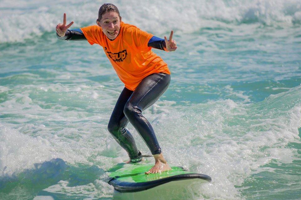 fun surf lesson