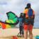 Beach Fly Kite school video