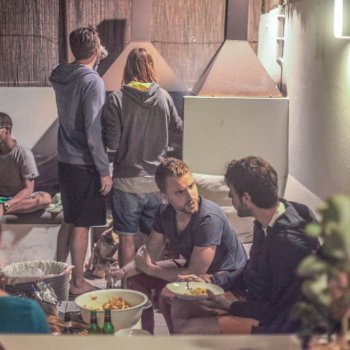 Weekly BBQ at Line Up Corralejo Surfcamp