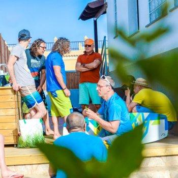 Glisse Kite camp in Fuerteventura