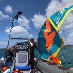 Kite Boat session April in Fuerteventura