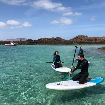 Sup to Lobos Island April