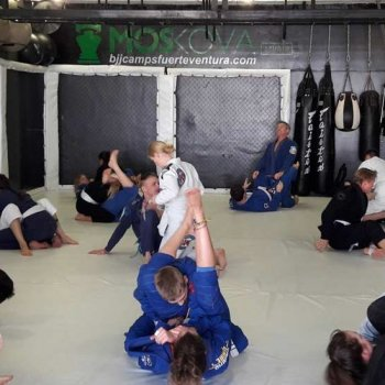 Frontline Bjj Camp in Canarias