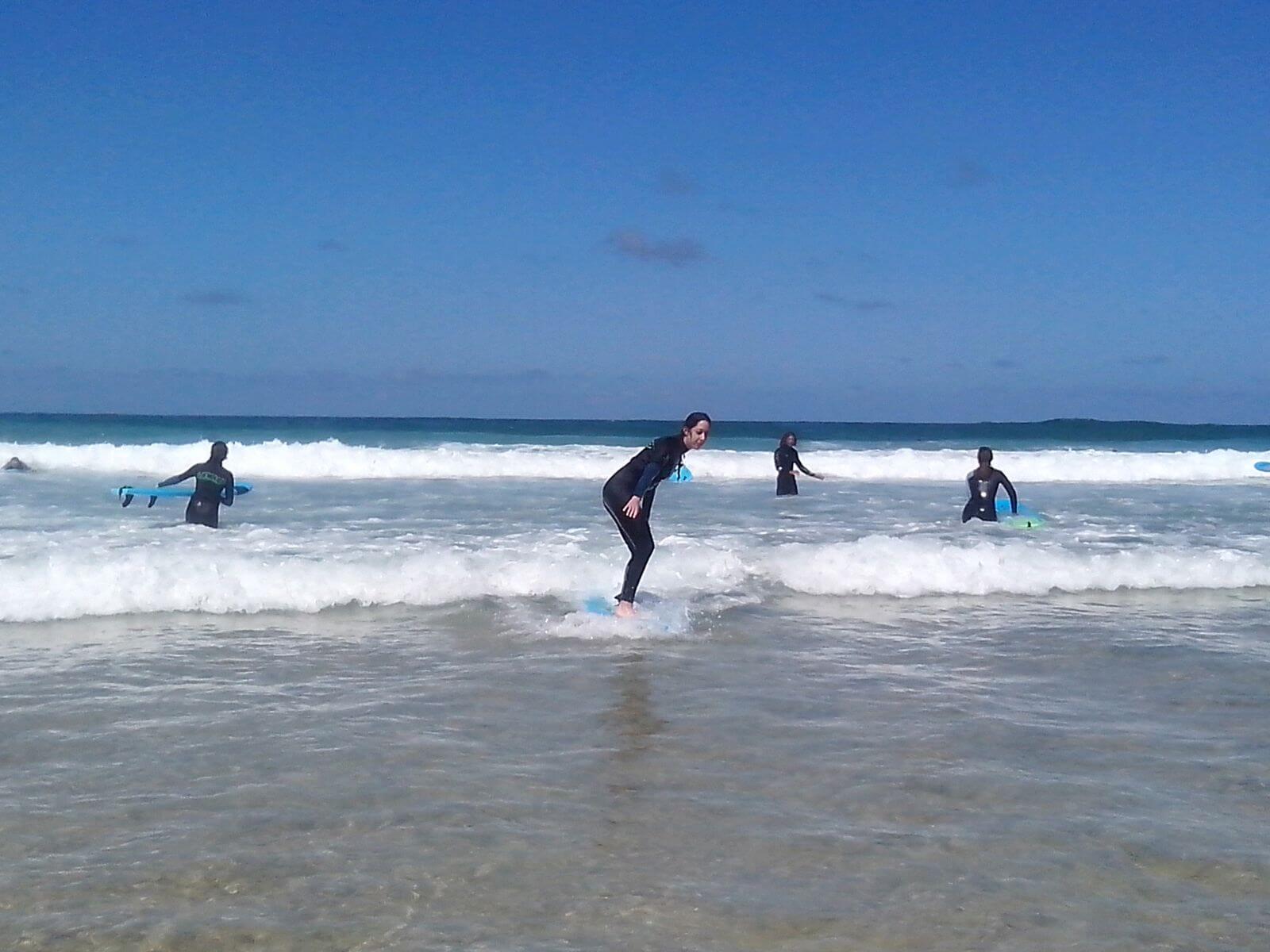 surfeando fuerteventura