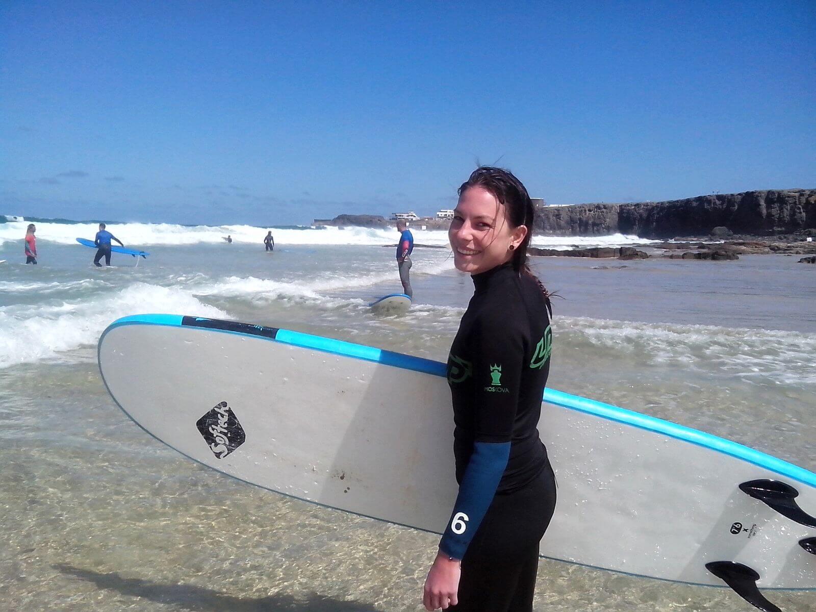 a surfear corralejo