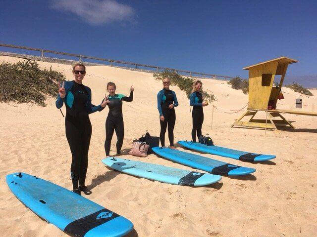 surfear en fuerte