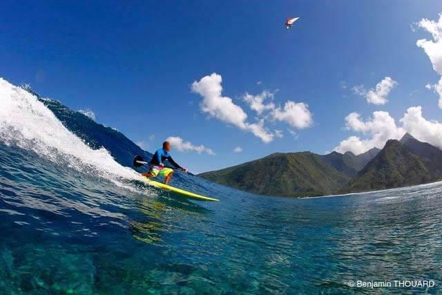 Teiva waterman surf sup