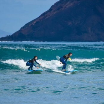 Surfing in November in Fuerteventura