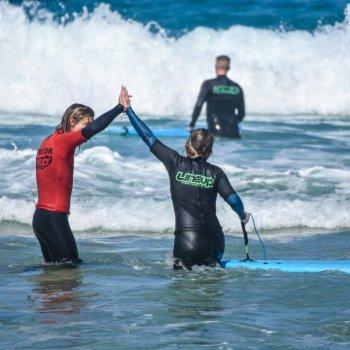 April Surfing Lessons in Fuerteventura