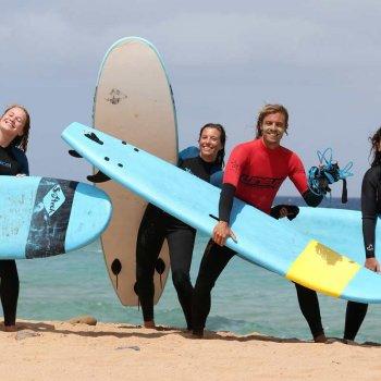 Surfing June in Fuerteventura