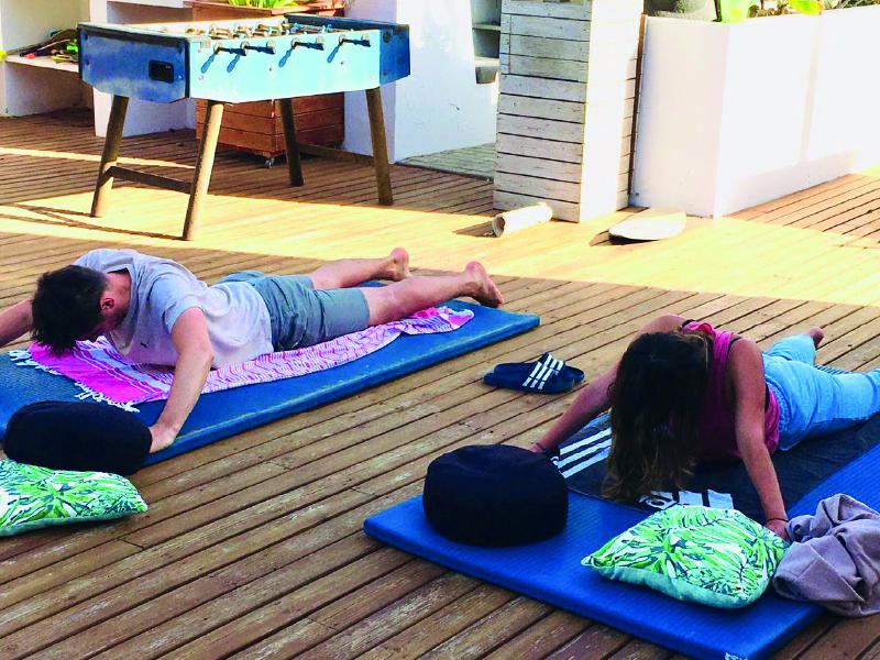 strech yoga