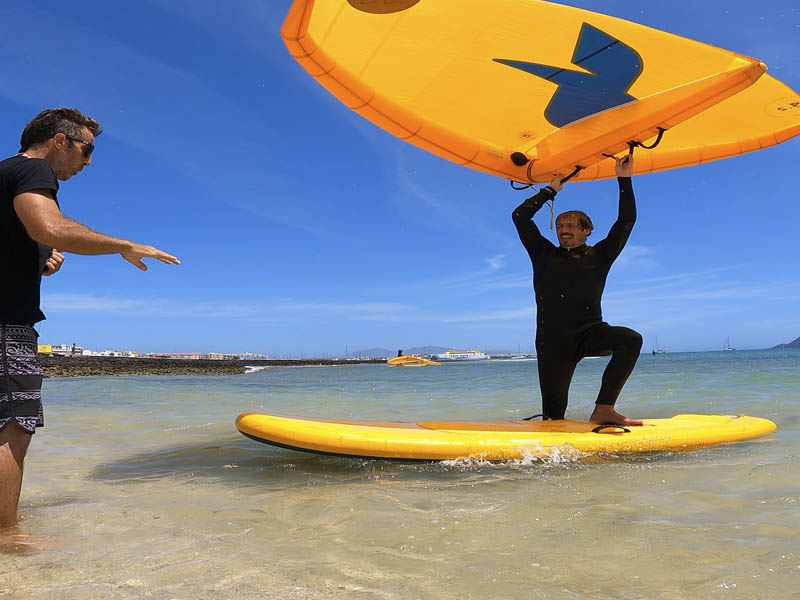 wing surf courses