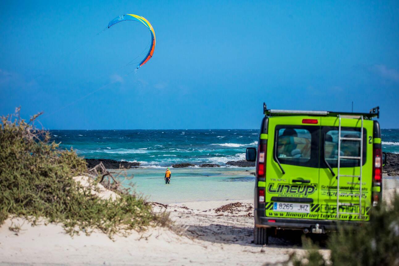 kitesurf in cotillo