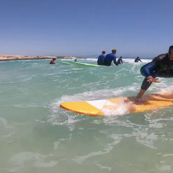 Corralejo Surfing at Playa del Moro
